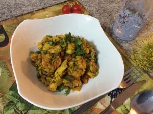 Spicy Soanish Paella