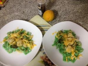 Dinner served