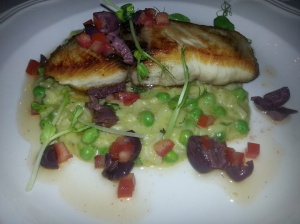Dorado with Risotto