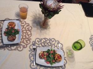 Dinner ready!
